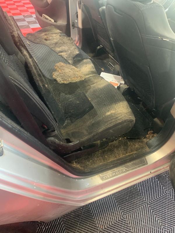 rénovation siège voiture